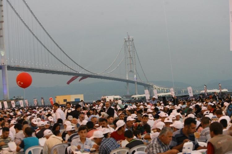 Osmangazi Köprüsü açıldı! Muhteşem kareler 22
