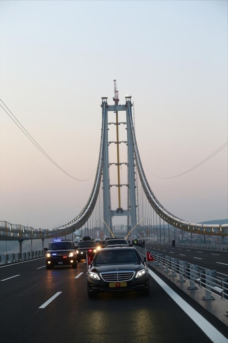 Osmangazi Köprüsü açıldı! Muhteşem kareler 23