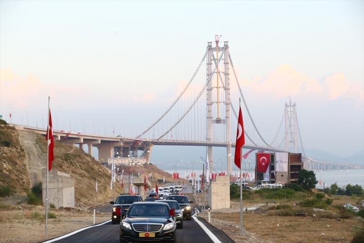 Osmangazi Köprüsü açıldı! Muhteşem kareler 25