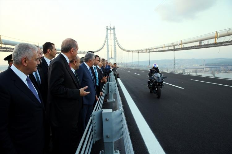 Osmangazi Köprüsü açıldı! Muhteşem kareler 26