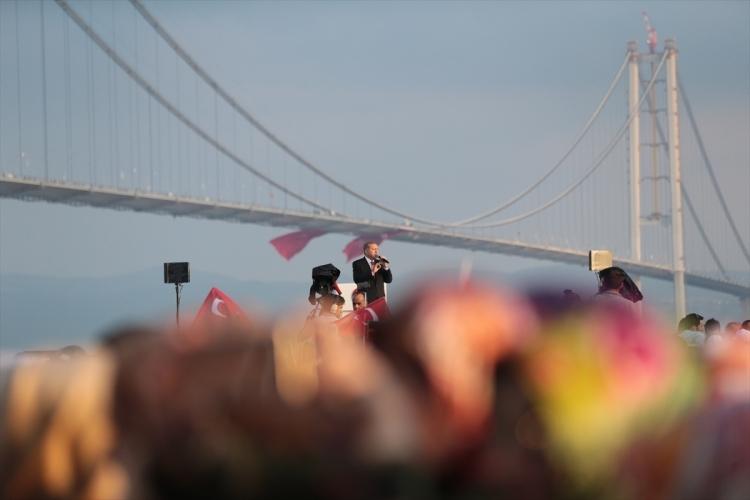 Osmangazi Köprüsü açıldı! Muhteşem kareler 30