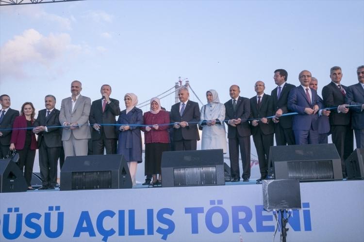 Osmangazi Köprüsü açıldı! Muhteşem kareler 32