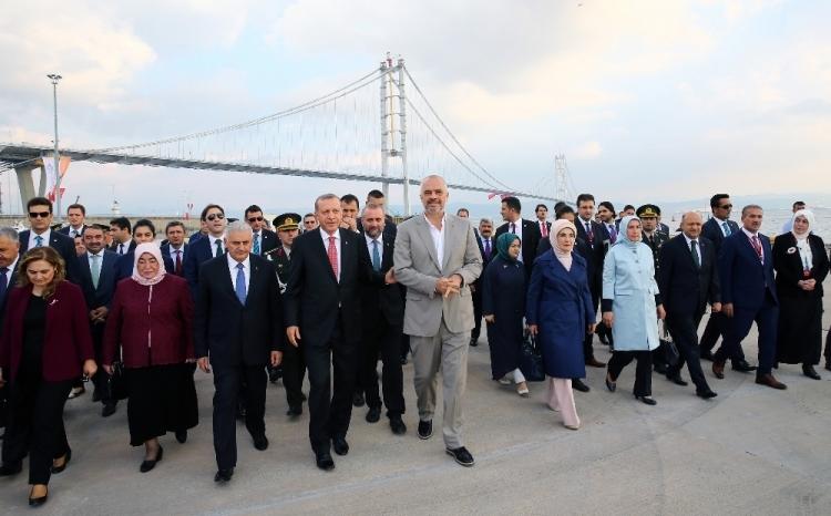 Osmangazi Köprüsü açıldı! Muhteşem kareler 33