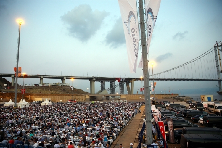 Osmangazi Köprüsü açıldı! Muhteşem kareler 34