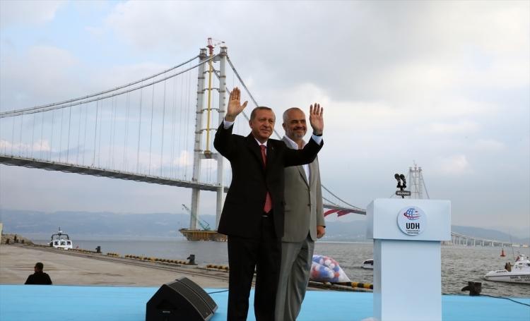 Osmangazi Köprüsü açıldı! Muhteşem kareler 35