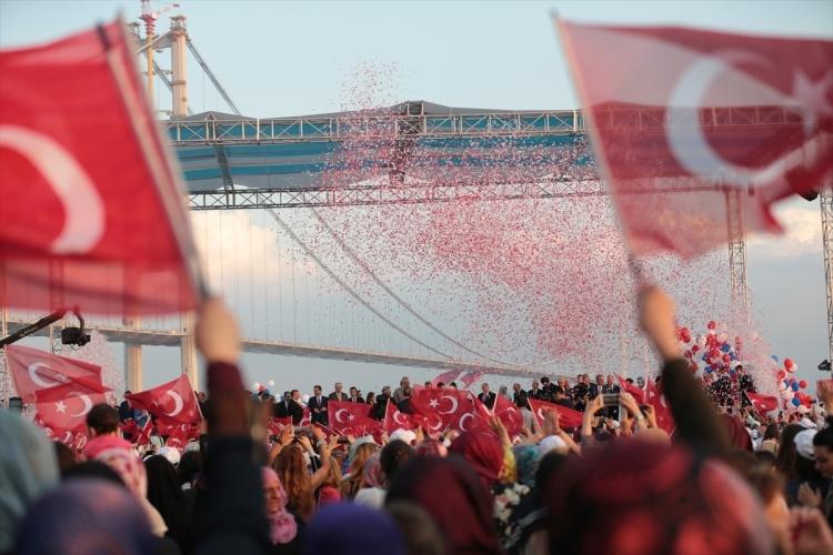 Osmangazi Köprüsü açıldı! Muhteşem kareler 36