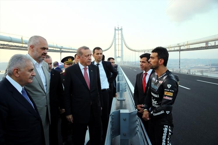 Osmangazi Köprüsü açıldı! Muhteşem kareler 4