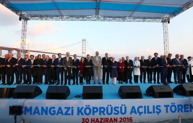 Osmangazi Köprüsü açıldı! Muhteşem kareler 40