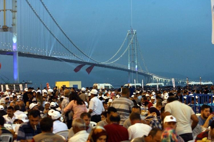 Osmangazi Köprüsü açıldı! Muhteşem kareler 44