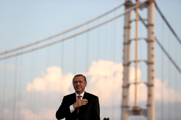 Osmangazi Köprüsü açıldı! Muhteşem kareler 46