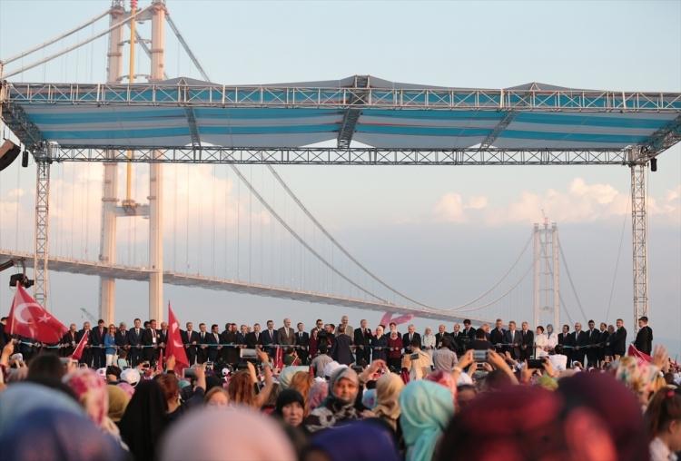 Osmangazi Köprüsü açıldı! Muhteşem kareler 47
