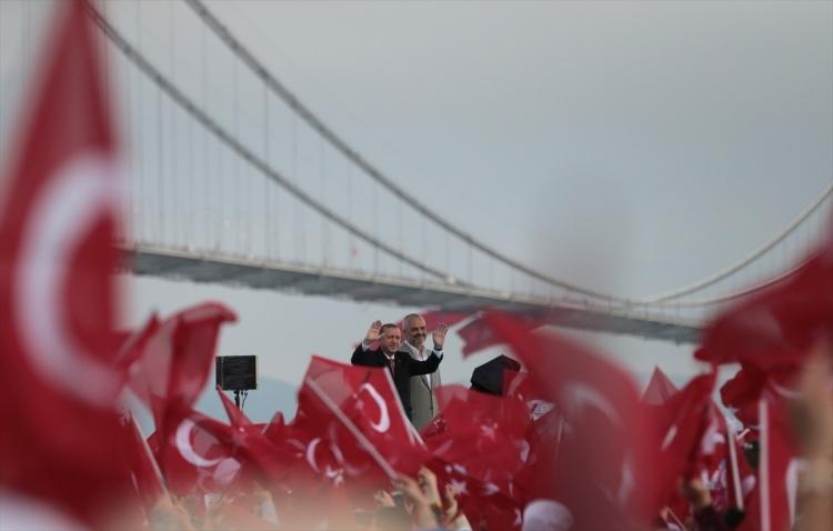 Osmangazi Köprüsü açıldı! Muhteşem kareler 48