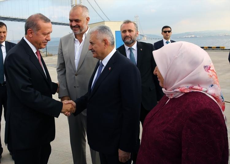 Osmangazi Köprüsü açıldı! Muhteşem kareler 49