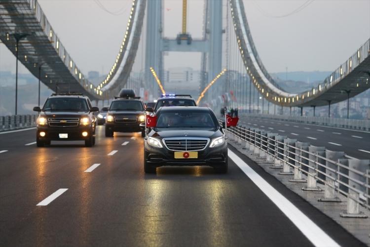 Osmangazi Köprüsü açıldı! Muhteşem kareler 5