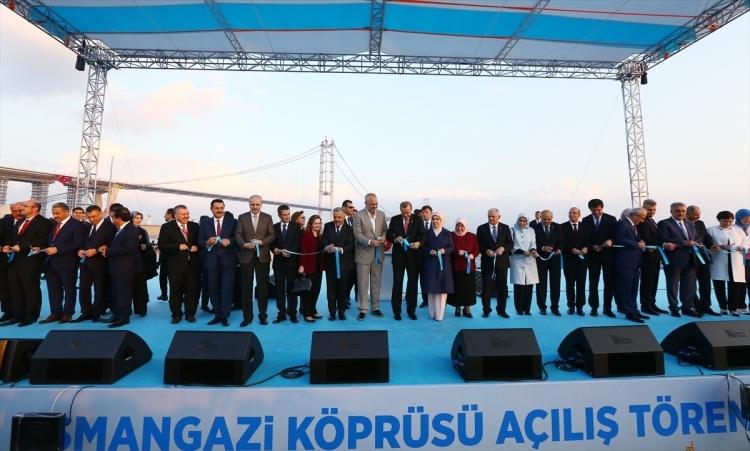 Osmangazi Köprüsü açıldı! Muhteşem kareler 50