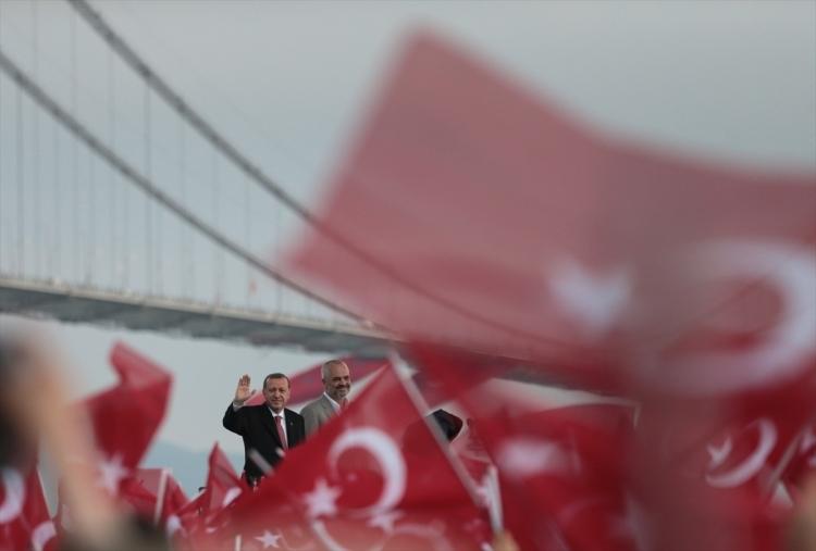 Osmangazi Köprüsü açıldı! Muhteşem kareler 52