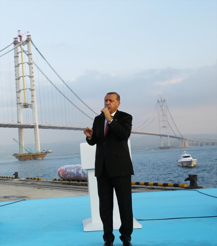 Osmangazi Köprüsü açıldı! Muhteşem kareler 56