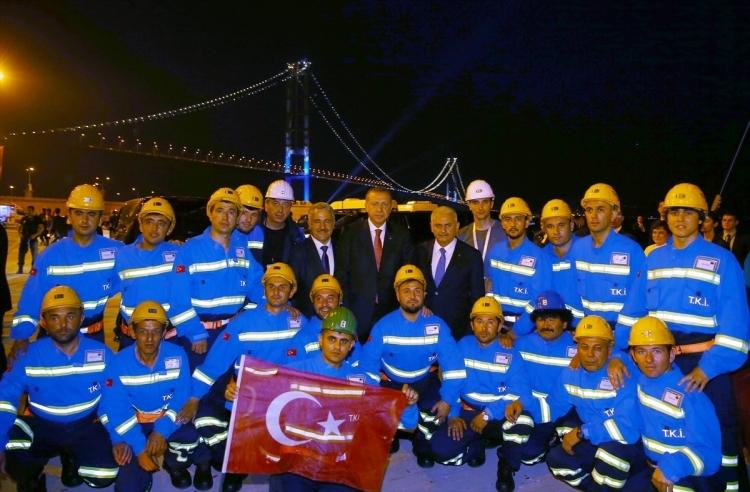 Osmangazi Köprüsü açıldı! Muhteşem kareler 57