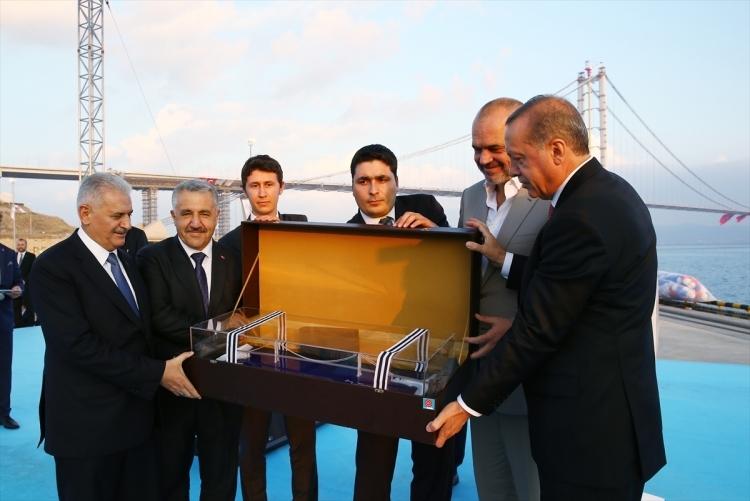 Osmangazi Köprüsü açıldı! Muhteşem kareler 58
