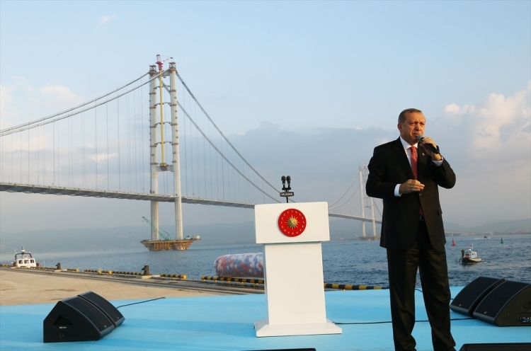 Osmangazi Köprüsü açıldı! Muhteşem kareler 59