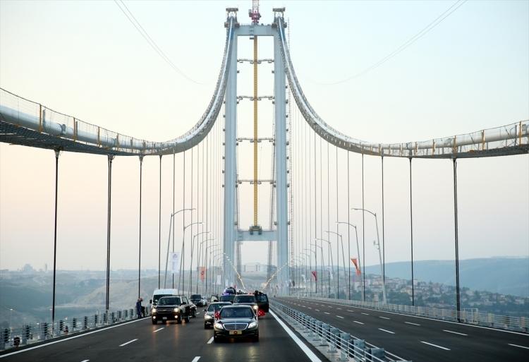 Osmangazi Köprüsü açıldı! Muhteşem kareler 6