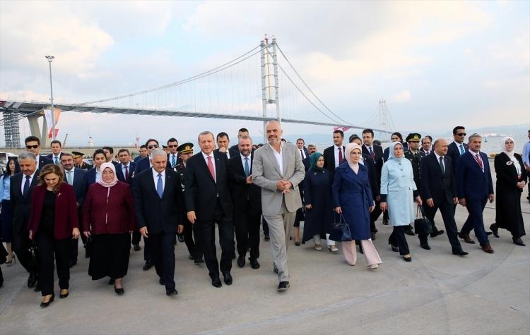 Osmangazi Köprüsü açıldı! Muhteşem kareler 61
