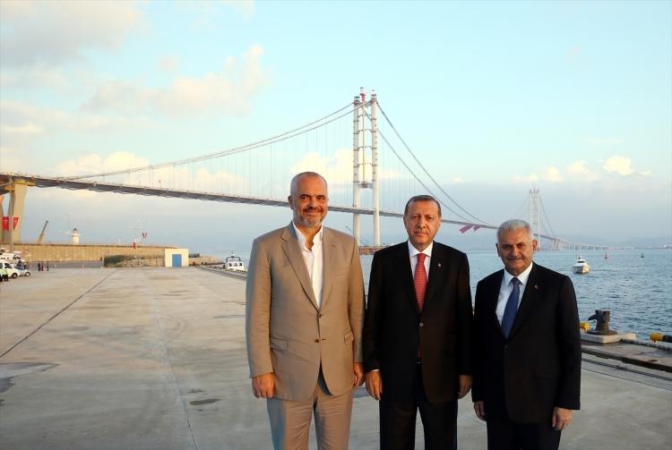 Osmangazi Köprüsü açıldı! Muhteşem kareler 64