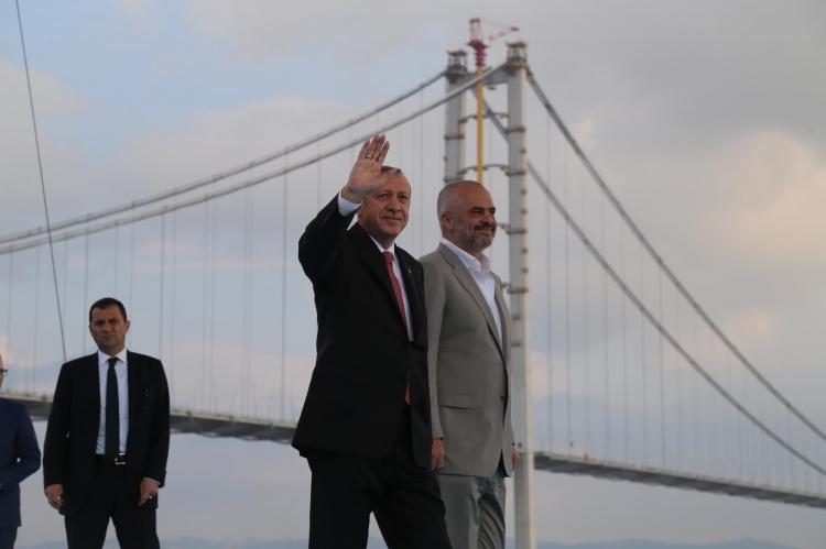 Osmangazi Köprüsü açıldı! Muhteşem kareler 65