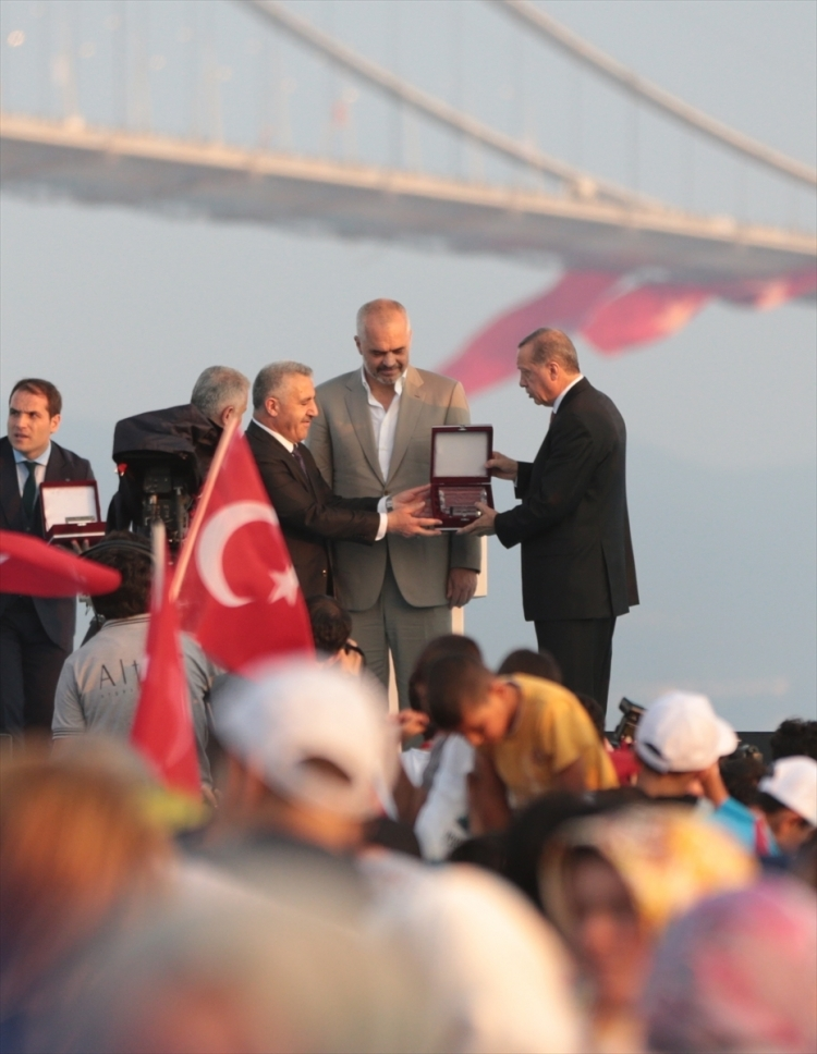 Osmangazi Köprüsü açıldı! Muhteşem kareler 67