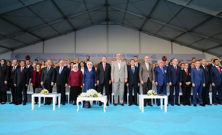 Osmangazi Köprüsü açıldı! Muhteşem kareler 68
