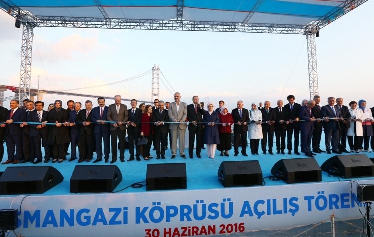 Osmangazi Köprüsü açıldı! Muhteşem kareler 73