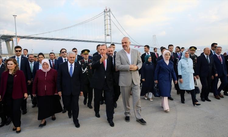 Osmangazi Köprüsü açıldı! Muhteşem kareler 74