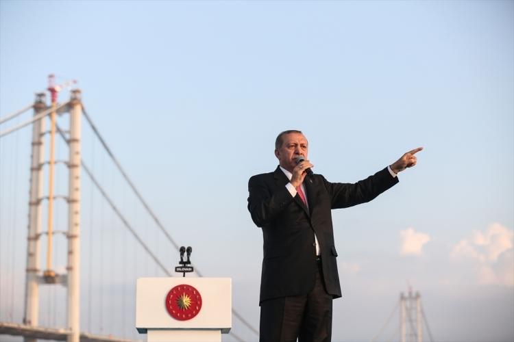 Osmangazi Köprüsü açıldı! Muhteşem kareler 75