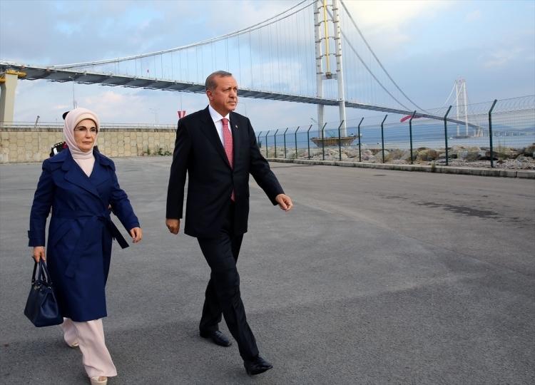 Osmangazi Köprüsü açıldı! Muhteşem kareler 77