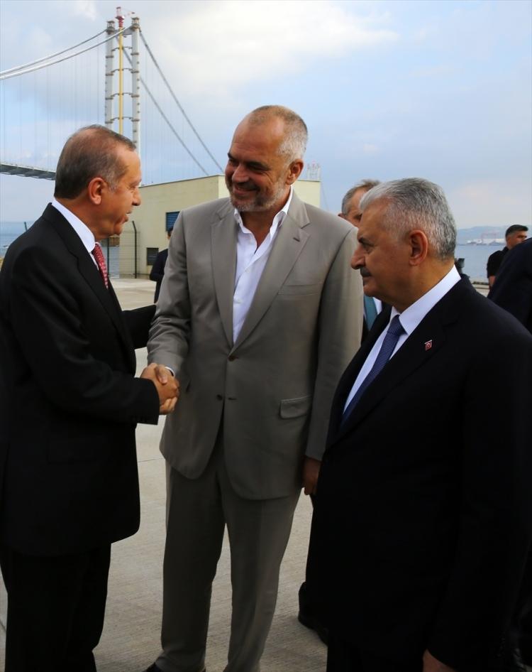 Osmangazi Köprüsü açıldı! Muhteşem kareler 78