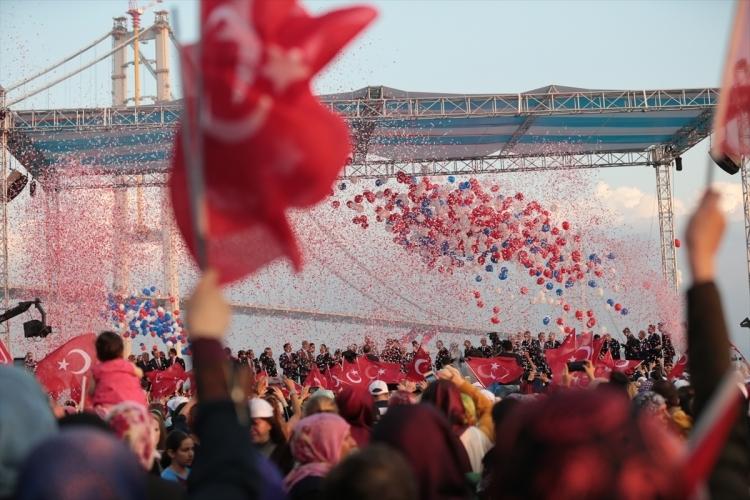 Osmangazi Köprüsü açıldı! Muhteşem kareler 84