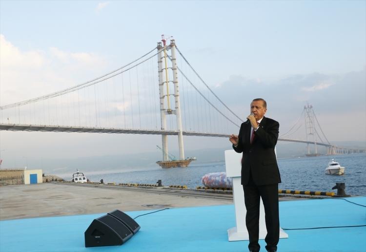 Osmangazi Köprüsü açıldı! Muhteşem kareler 86