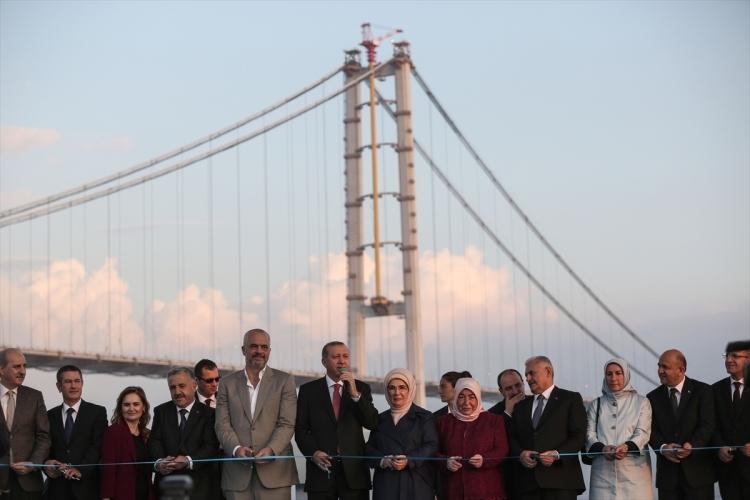 Osmangazi Köprüsü açıldı! Muhteşem kareler 89