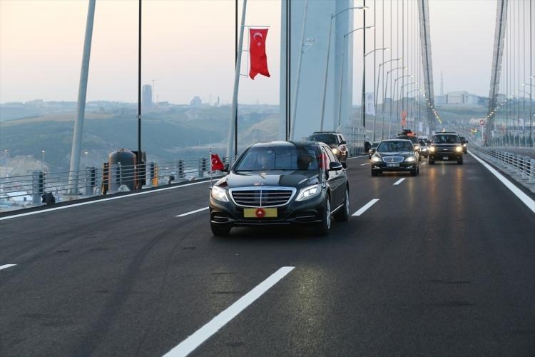 Osmangazi Köprüsü açıldı! Muhteşem kareler 9