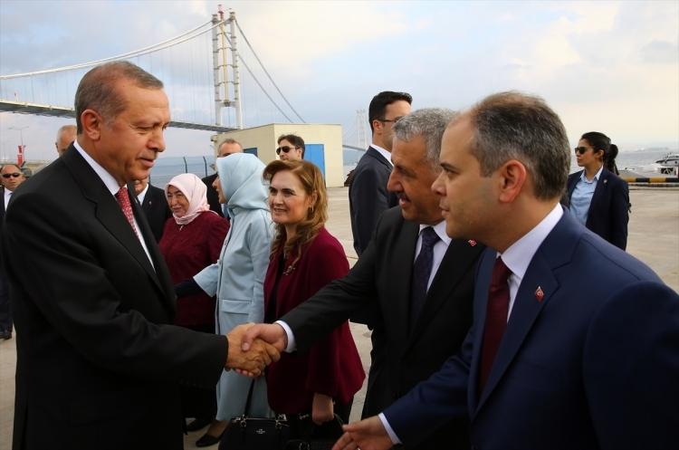 Osmangazi Köprüsü açıldı! Muhteşem kareler 91