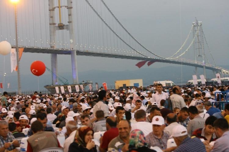 Osmangazi Köprüsü açıldı! Muhteşem kareler 94