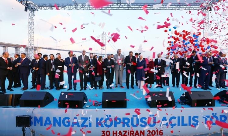 Osmangazi Köprüsü açıldı! Muhteşem kareler 95