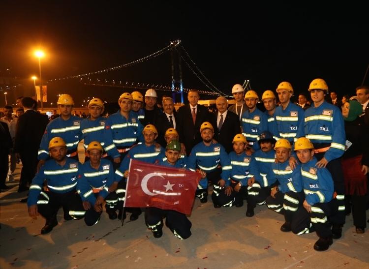 Osmangazi Köprüsü açıldı! Muhteşem kareler 98