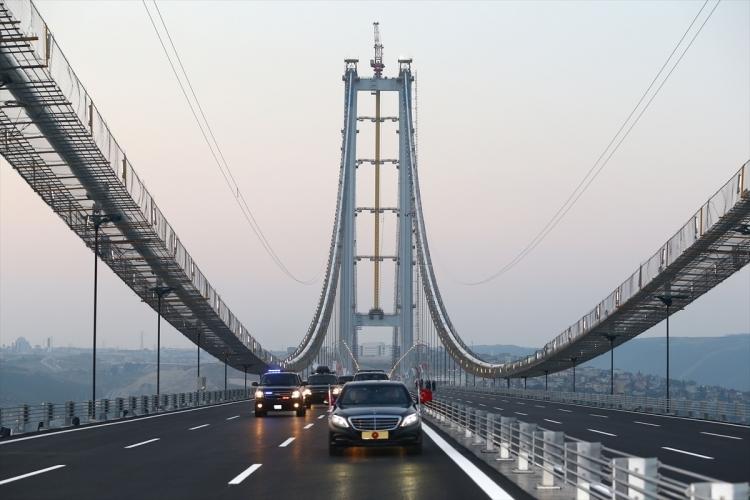 Osmangazi Köprüsü açıldı! Muhteşem kareler 99