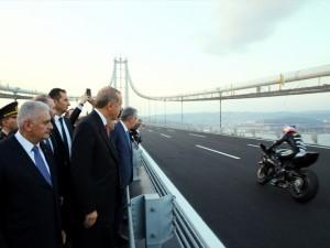 Osmangazi Köprüsü açıldı! Muhteşem kareler