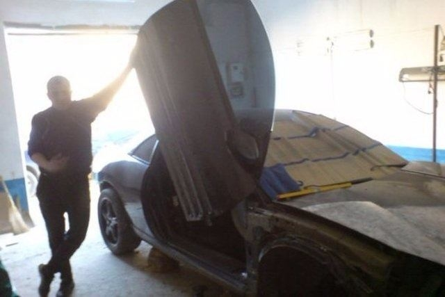 Evinde Lamborghini yaptı! 11