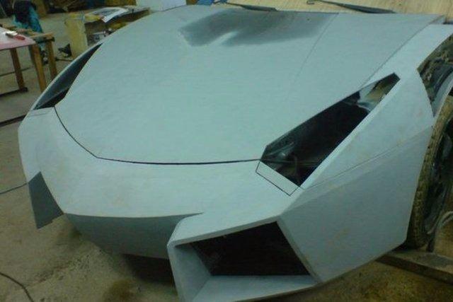 Evinde Lamborghini yaptı! 15