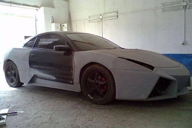 Evinde Lamborghini yaptı! 21