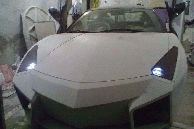 Evinde Lamborghini yaptı! 27
