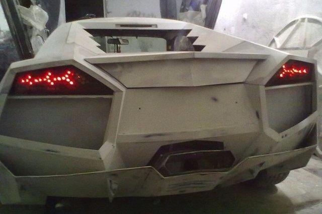 Evinde Lamborghini yaptı! 28